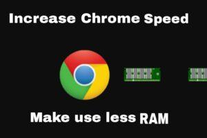 Google chrome running slow